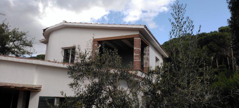 Reforma de vivenda unifamiliar aïllada a Cabrils